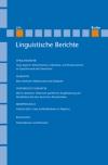 Linguistische Berichte Heft 214