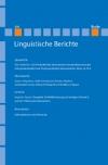 Linguistische Berichte Heft 216
