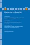 Linguistische Berichte Heft 218