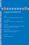 Linguistische Berichte Heft 228
