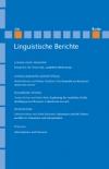 Linguistische Berichte Heft 236