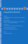 Linguistische Berichte Heft 245