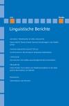 Linguistische Berichte Heft 253