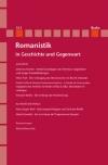 Romanistik in Geschichte und Gegenwart 15,1