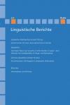 Linguistische Berichte Heft 254