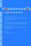 Linguistische Berichte Heft 256