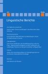 Linguistische Berichte Heft 260