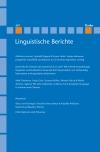 Linguistische Berichte Heft 267