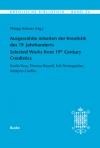 Ausgewählte Arbeiten der Kreolistik des 19. Jahrhunderts / Selected Works from 19th Century Creolistics