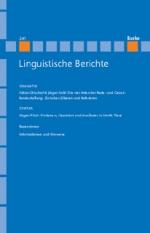 Linguistische Berichte Heft 241