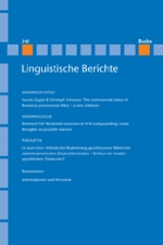 Linguistische Berichte Heft 242