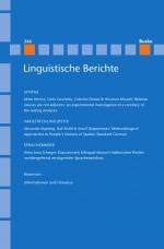 Linguistische Berichte Heft 246