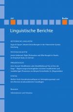 Linguistische Berichte Heft 247