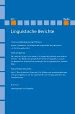 Linguistische Berichte Heft 249