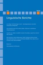Linguistische Berichte Heft 264
