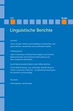 Linguistische Berichte Heft 257