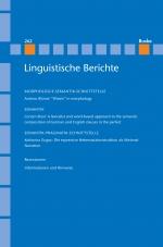 Linguistische Berichte Heft 262