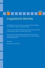 Linguistische Berichte Heft 263