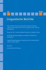 Linguistische Berichte Heft 266