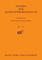 Studien zur Altägyptischen Kultur Band 03