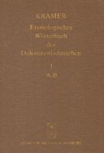 Etymologisches Wörterbuch des Dolomitenladinischen. Band I (A-B)