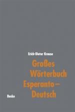 Großes Wörterbuch Esperanto-Deutsch
