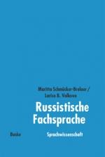 Russistische Fachsprache