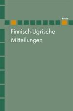 Finnisch-Ugrische Mitteilungen Band 21/22