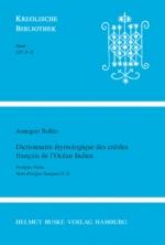 Dictionnaire étymologique des créoles français de l'Océan Indien. Première Partie: Mots d'origine française P–Z