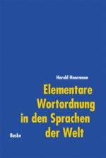 Elementare Wortordnung in den Sprachen der Welt