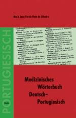 Medizinisches Wörterbuch Deutsch-Portugiesisch