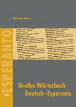 Großes Wörterbuch Deutsch-Esperanto