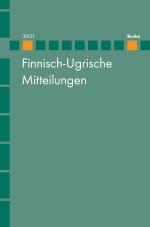 Finnisch-Ugrische Mitteilungen Band 30/31