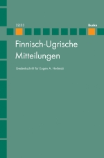 Finnisch-Ugrische Mitteilungen Band 32/33