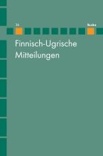 Finnisch-Ugrische Mitteilungen Band 36