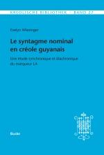 Le syntagme nominal en créole guyanais