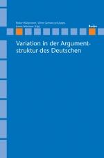 Variation in der Argumentstruktur des Deutschen