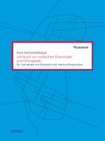 Lehrbuch zur russischen Grammatik und Orthografie
