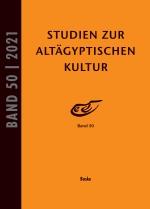 Studien zur Altägyptischen Kultur Band 50