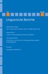 Linguistische Berichte Heft 229