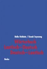 Wörterbuch Laotisch-Deutsch / Deutsch-Laotisch