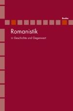 Romanistik in Geschichte und Gegenwart (RomGG)