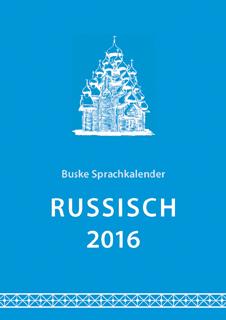 Sprachkalender Russisch 2016